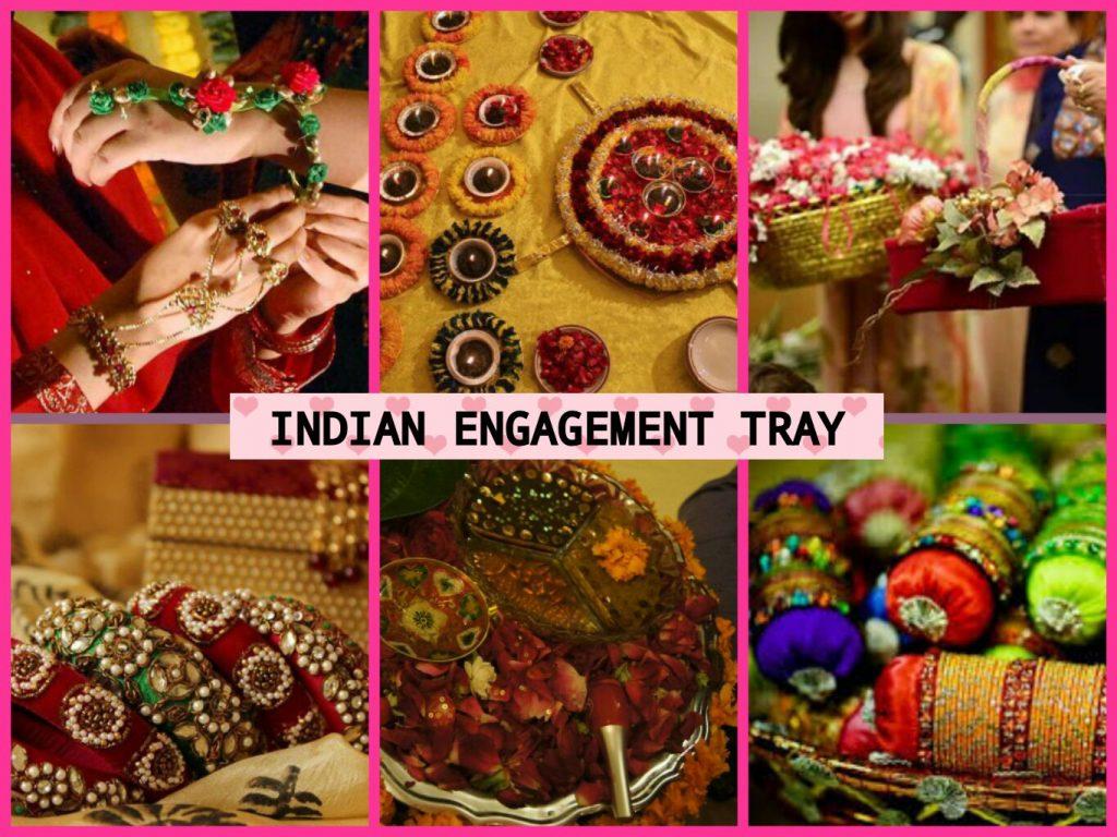 Indian Door Gift & Engagement Tray