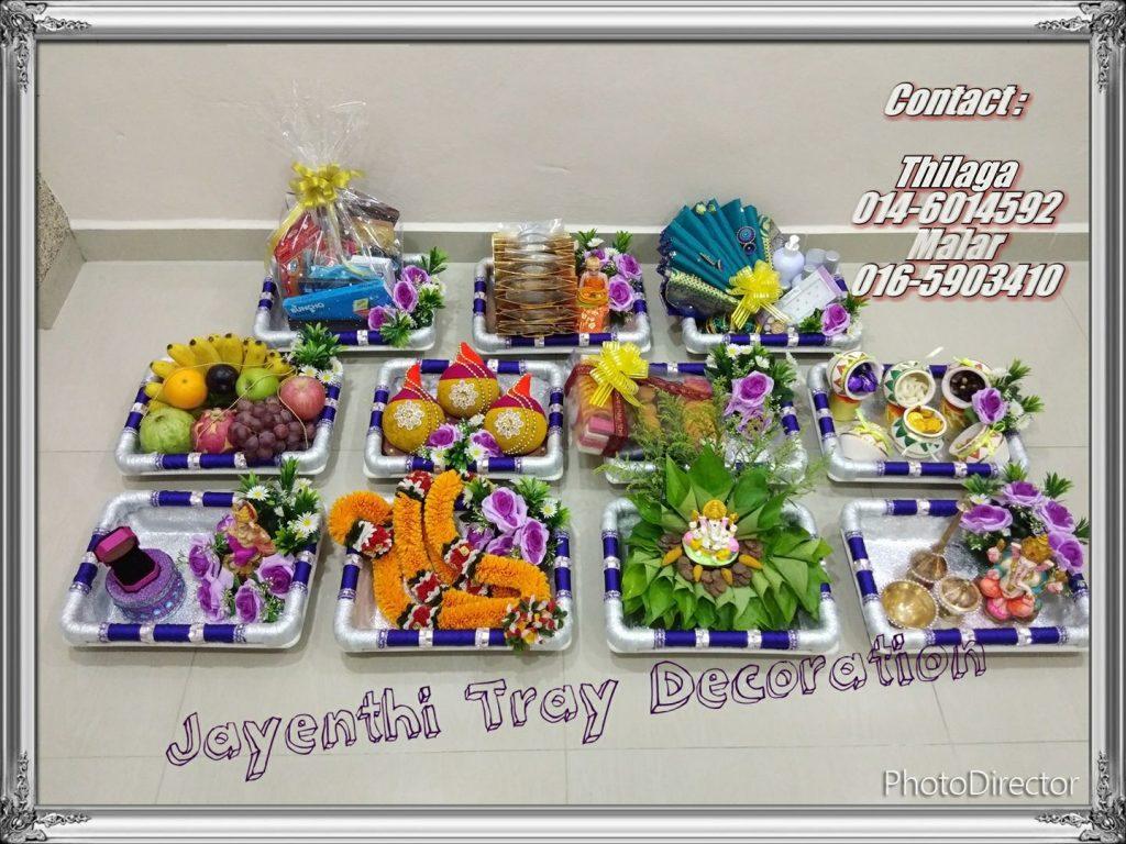 Jayenthi Tray Decoration