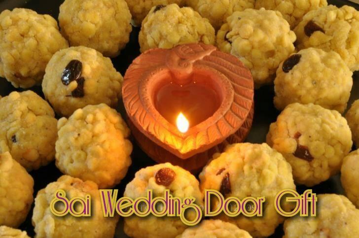 Sai Wedding Door Gift