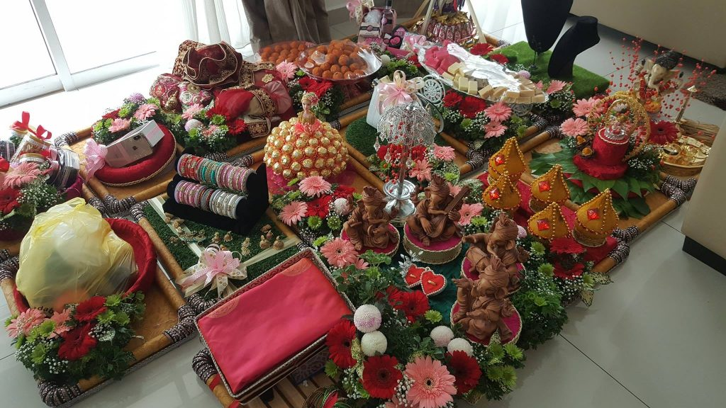 Engagement Tray Decoration & Florist